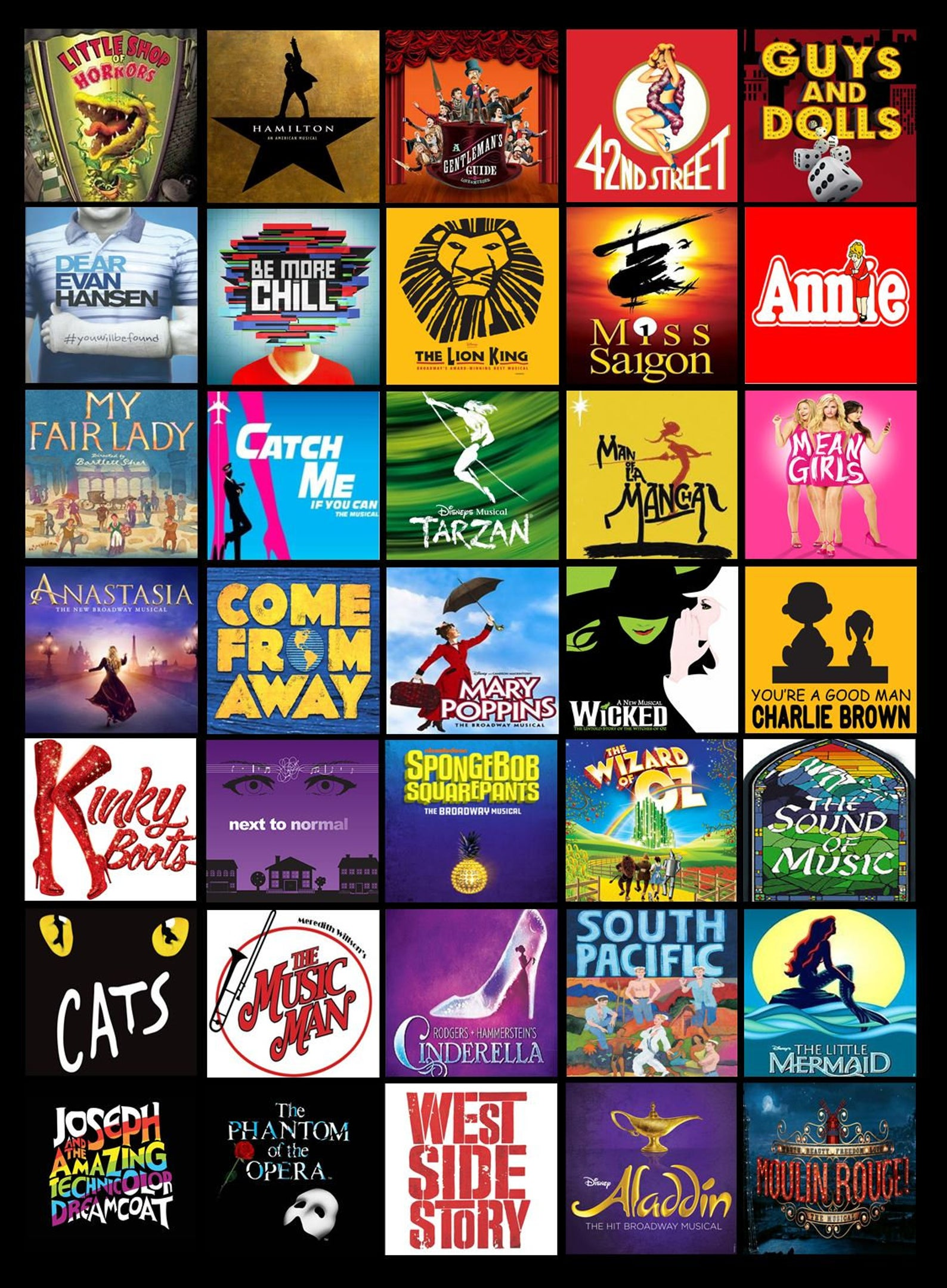 Mini-Broadway Mash-Up! - AFTERNOON SESSION | Ages 7-10