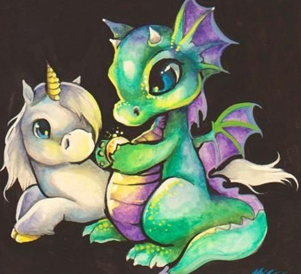 Dragons and Unicorns | Ages 5-10