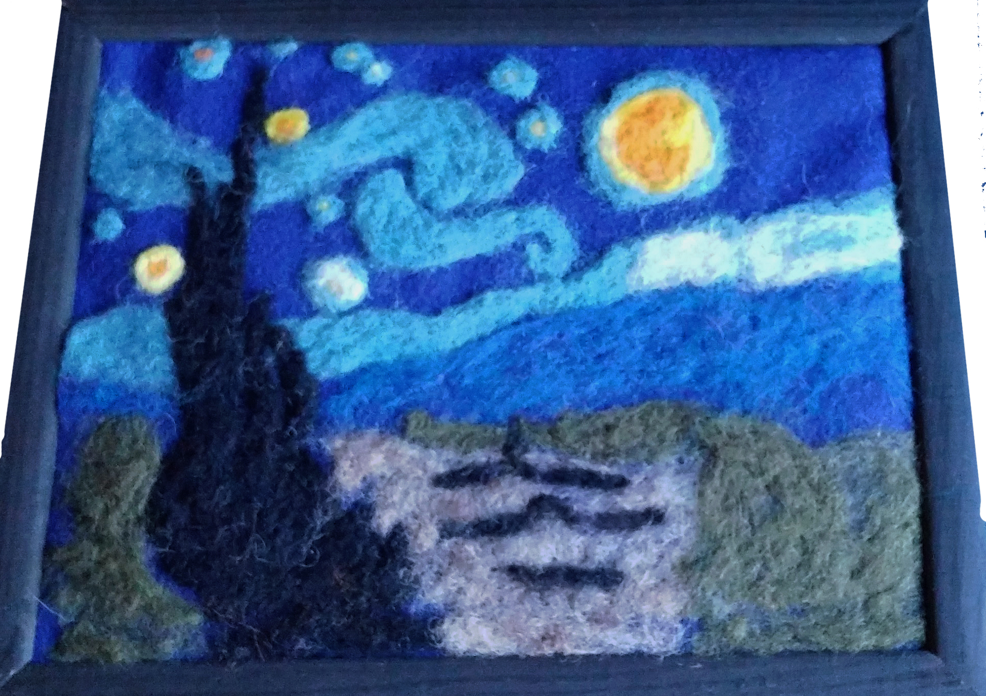 Painting With Wool – Alesia Moore