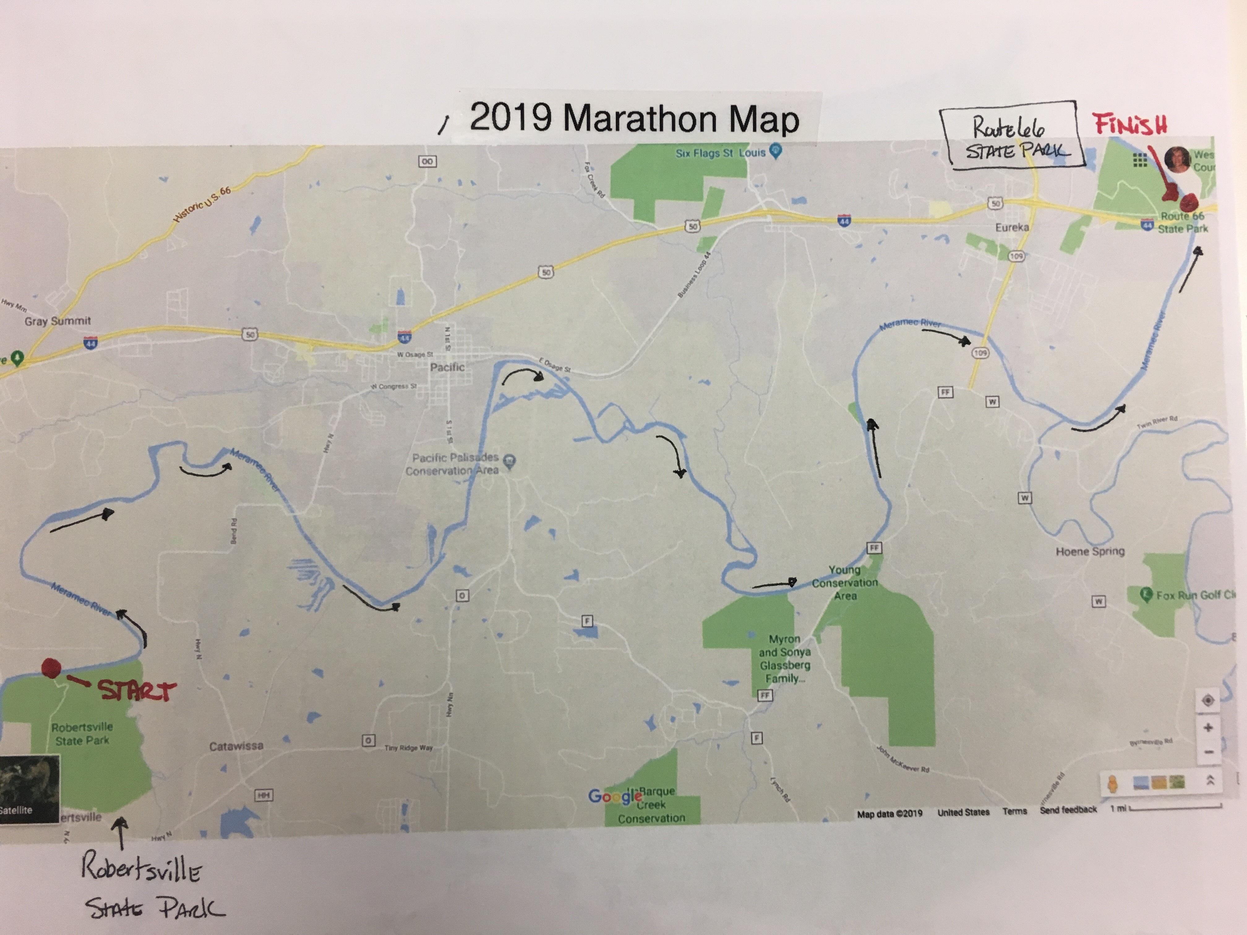 19 - KW - RACE - Meramec Marathon Paddle Race