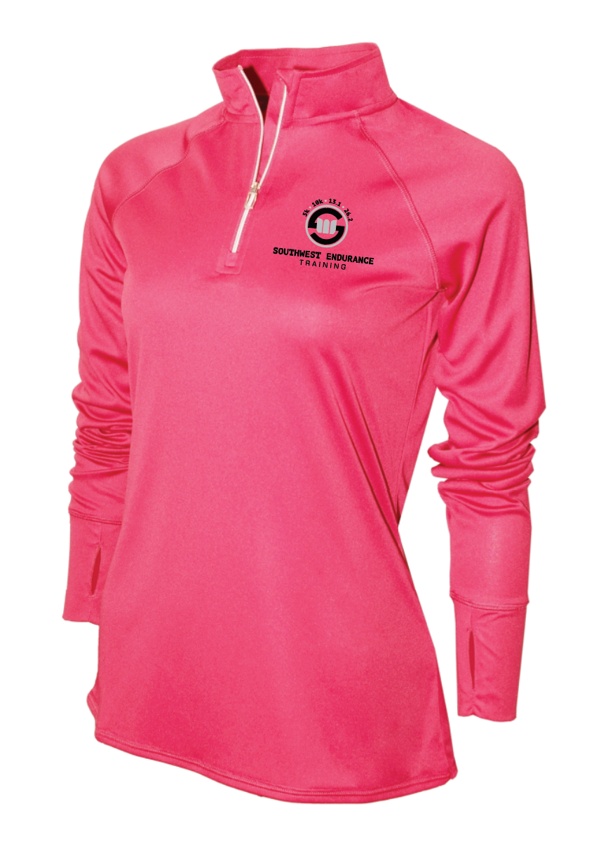 Women's Long Sleeve Technical Pull-Over