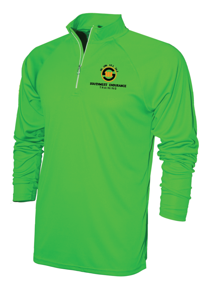 Men's Long Sleeve Technical Pull-Over
