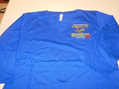 LVN1 - Ladies V-neck 3/4 Sleeve Premium Shirt