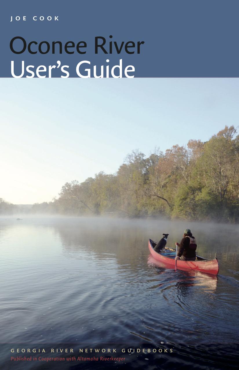 Oconee River User's Guide