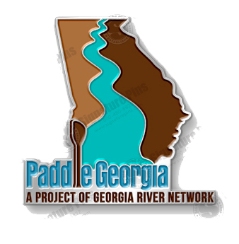 Paddle Georgia Lapel/Hat Pin