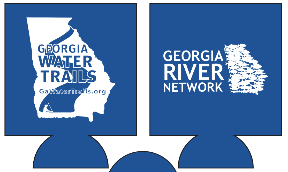 Georgia River Network/Water Trails Drink Koozies