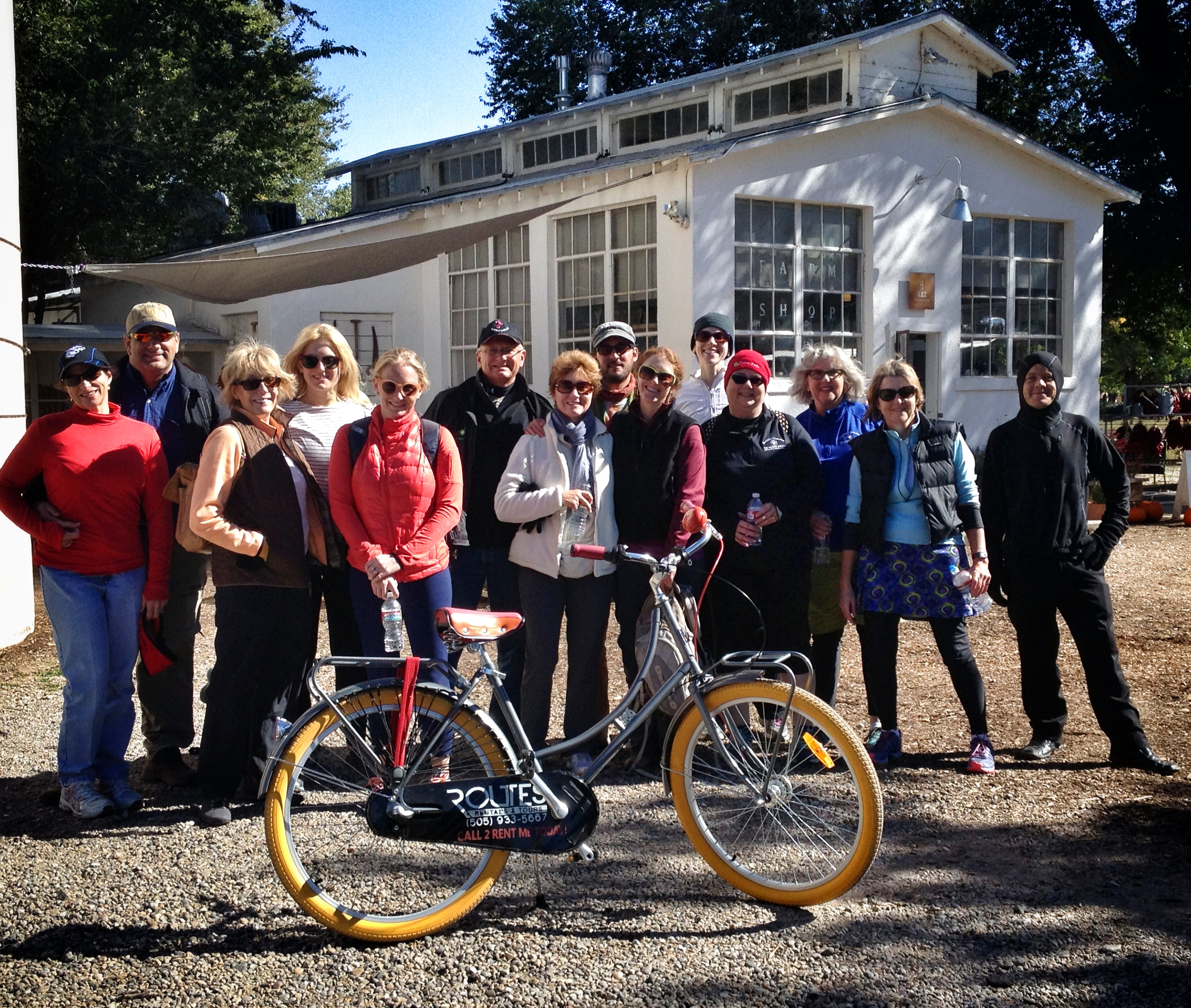 Routes Bicycle Tours Balloon Fiesta Bike Tour
