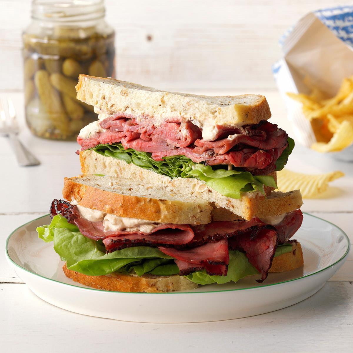 Lunch, Choice C: Roast beef