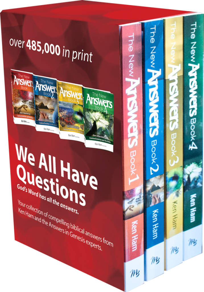 New Answers Books