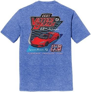 Men's T-Shirt - Royal Frost (Blue)