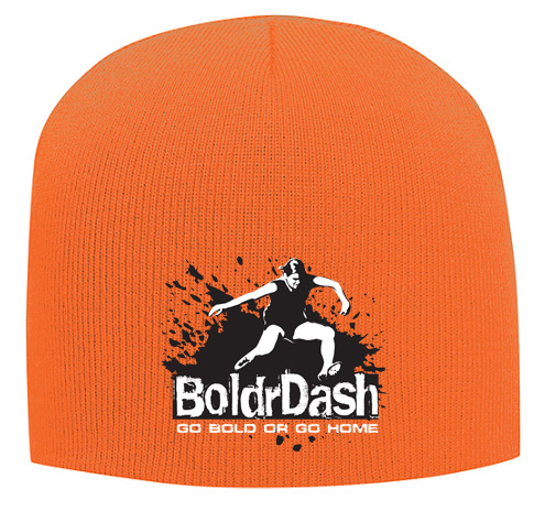Orange Winter Beanie