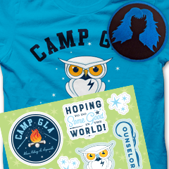 BUNDLE: Shirt, Stickers, and Patch