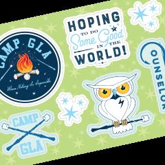 GLA Sticker Sheet –PRE-ORDER