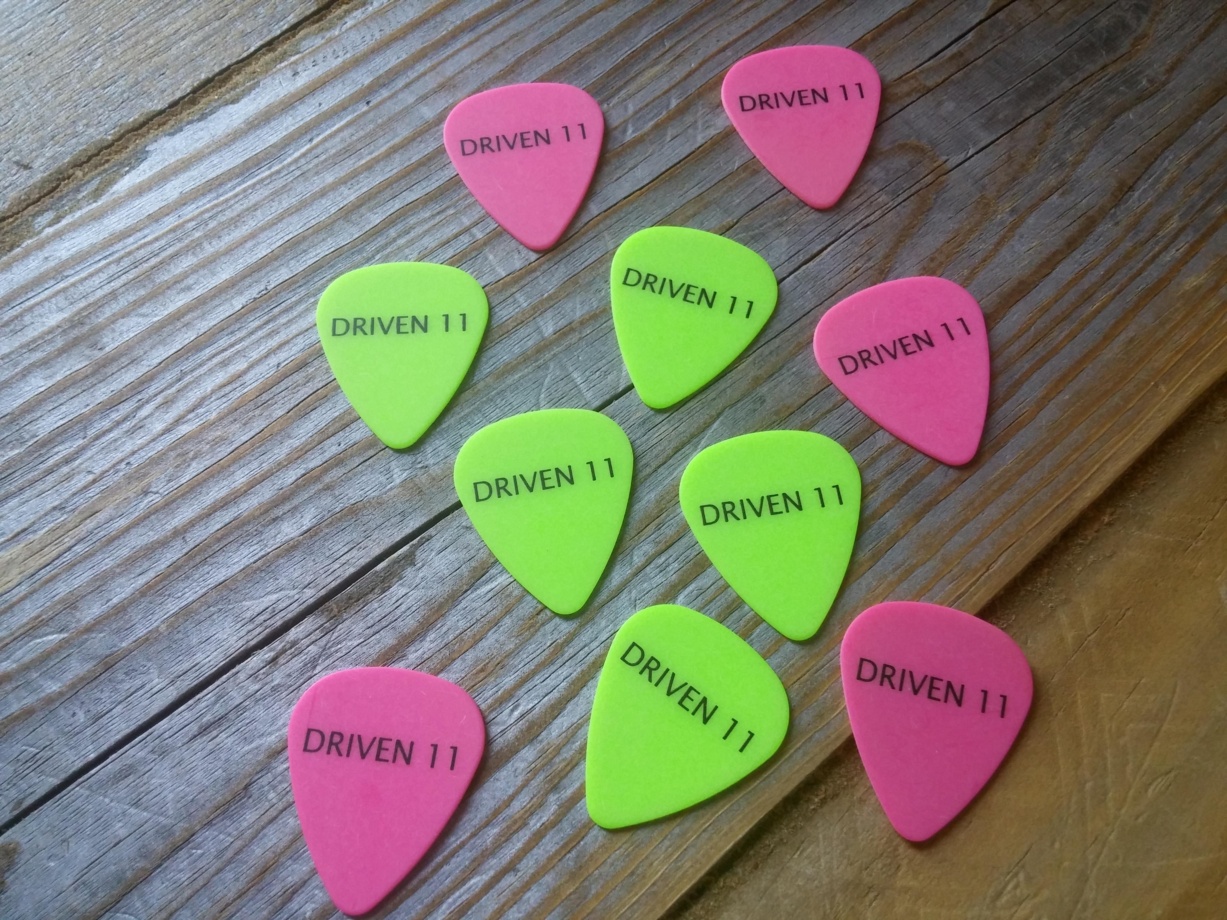 Guitar Pics (10 Pac)