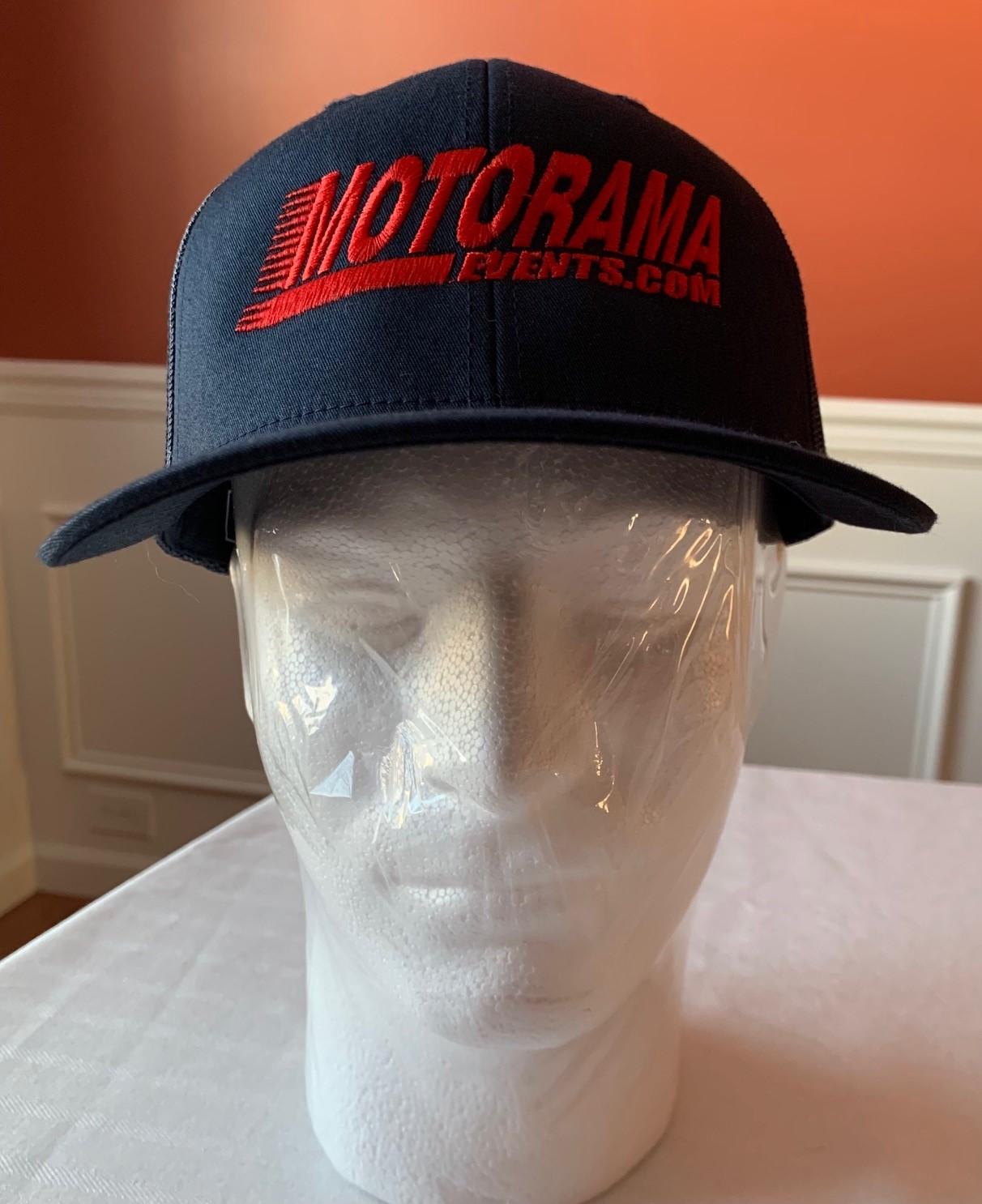Blue Adjustable Motorama Cap
