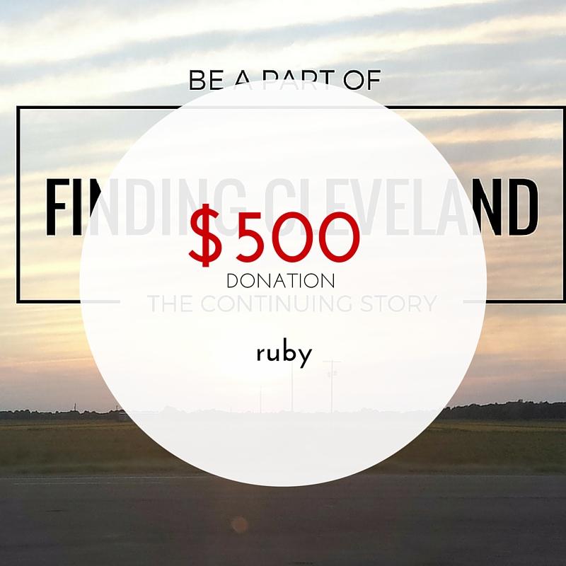 $500 - Ruby