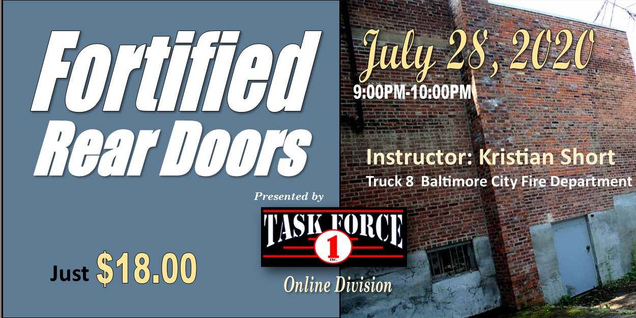 Fortified Rear Doors