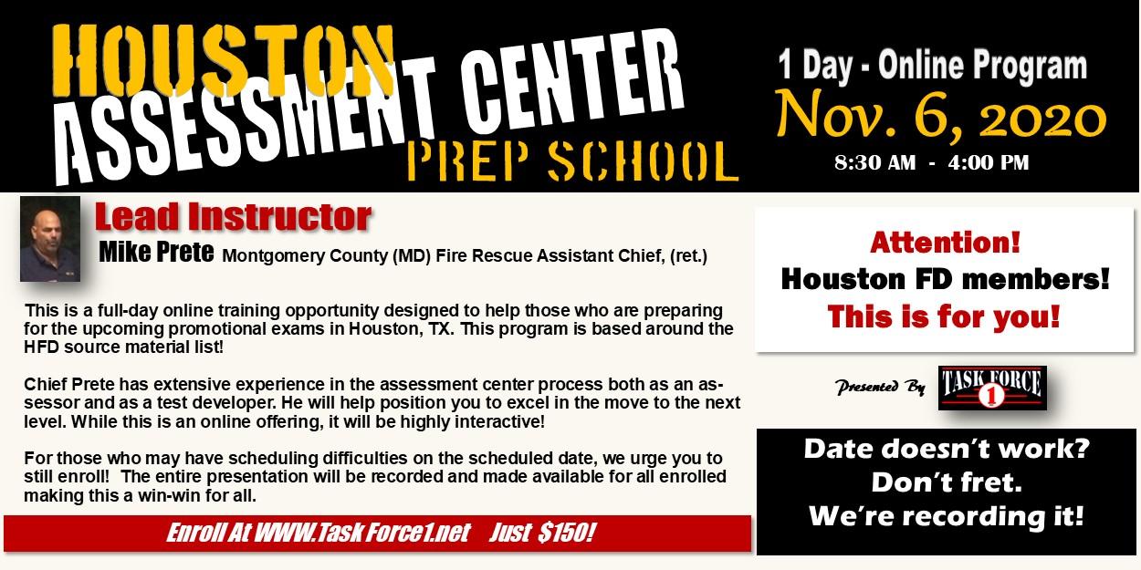Assessment Center Prep School  - Houston