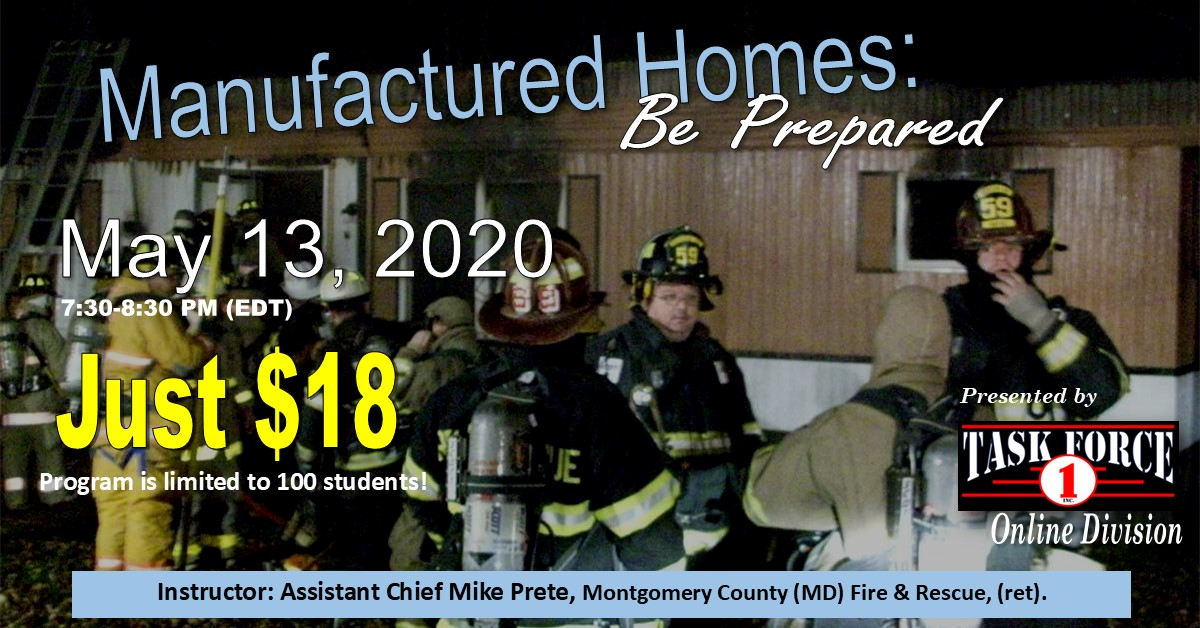 Manufactured Home Fires