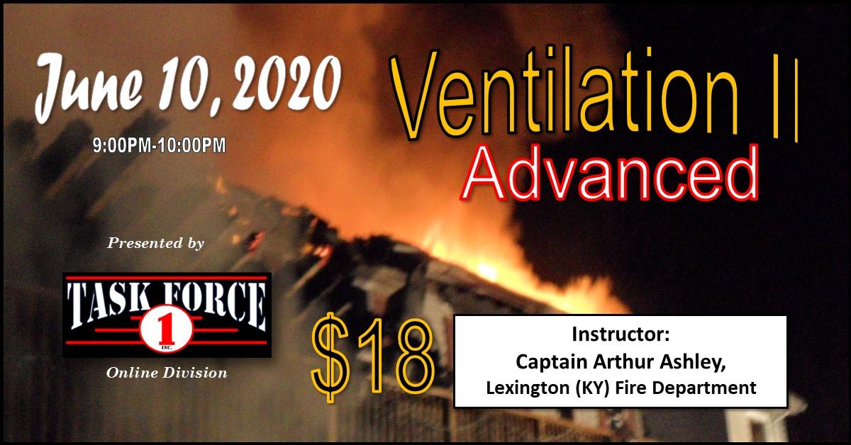 Ventilation II:  Advanced