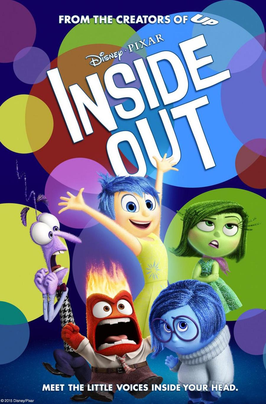 July 21st- Inside Out (PG)