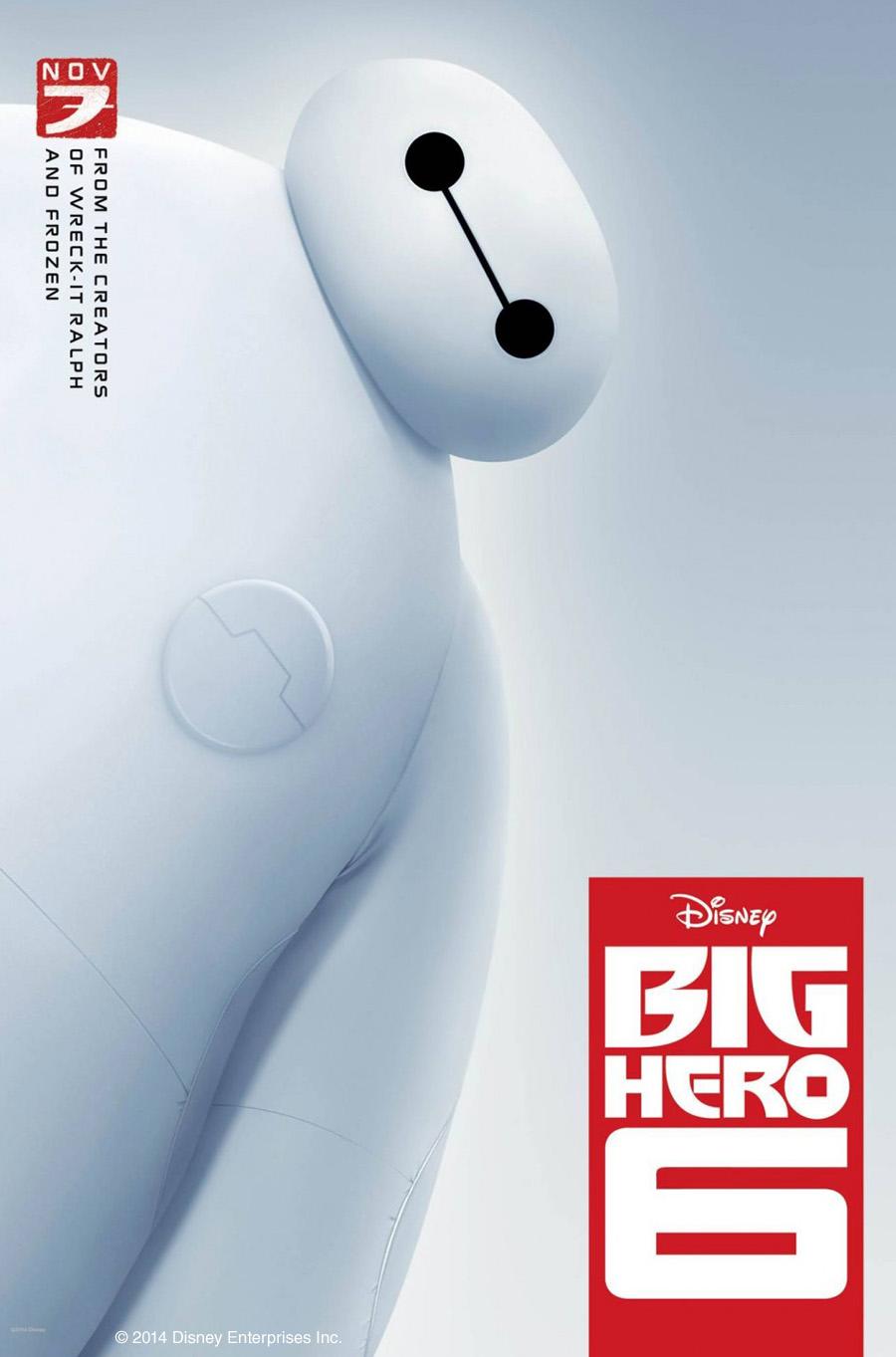 August 4th- Big Hero 6 (PG)