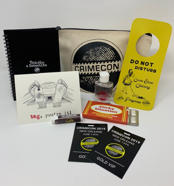 CrimeCon Holiday Gift Packs