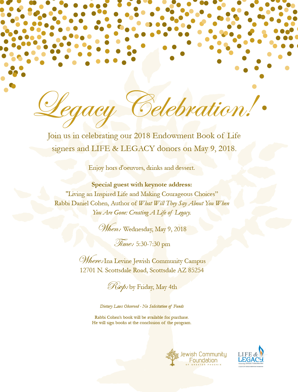 LIFE & LEGACY YEAR 3 SUCCESS AND EBOL EVENT REGISTRATION