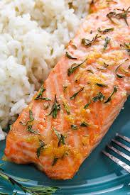 January 26 - Salmon and rice