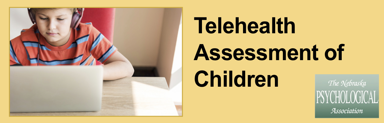 Telehealth Assessment of Children