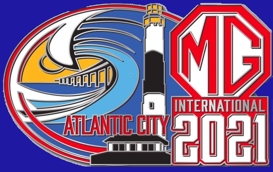 MG International 2021 Pin