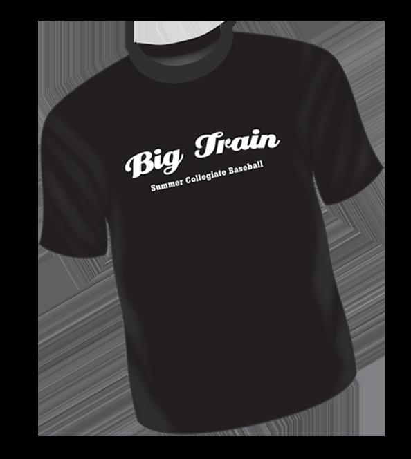 BLACK Big Train T-Shirt