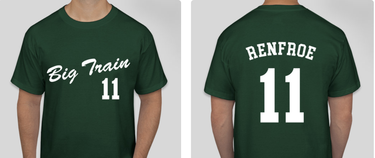 Hunter Renfroe T-Shirt   SIGNED