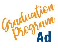 "Full-Page (5""x8"") Graduation Program Ad"