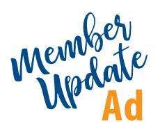 October 18, 2021 Member Update Ad