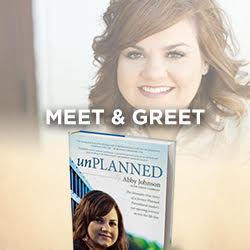 Select number of people to attend the meet & greet with Abby Johnson: