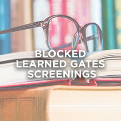 Identifying Blocked Learning Gates Screening with Dianne Craft & Cassie Moore (Wednesday 6/16 only)
