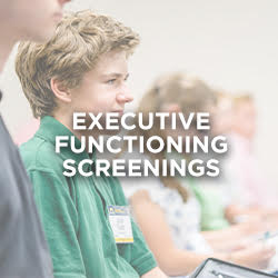 Executive Functioning Screenings with Tara Roehl (Wednesday 6/16 Only)