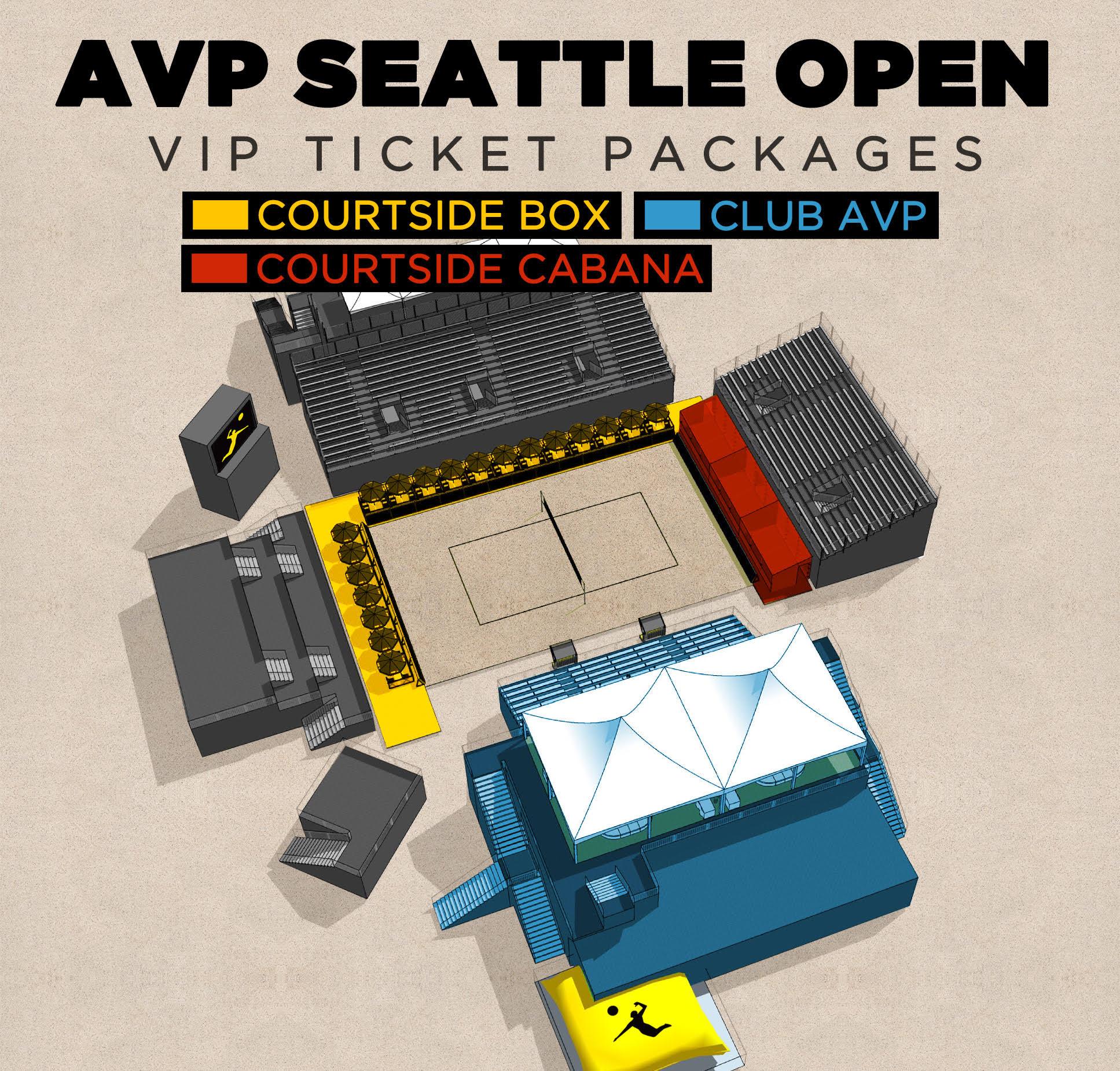 Seattle Avp Beach Volleyball