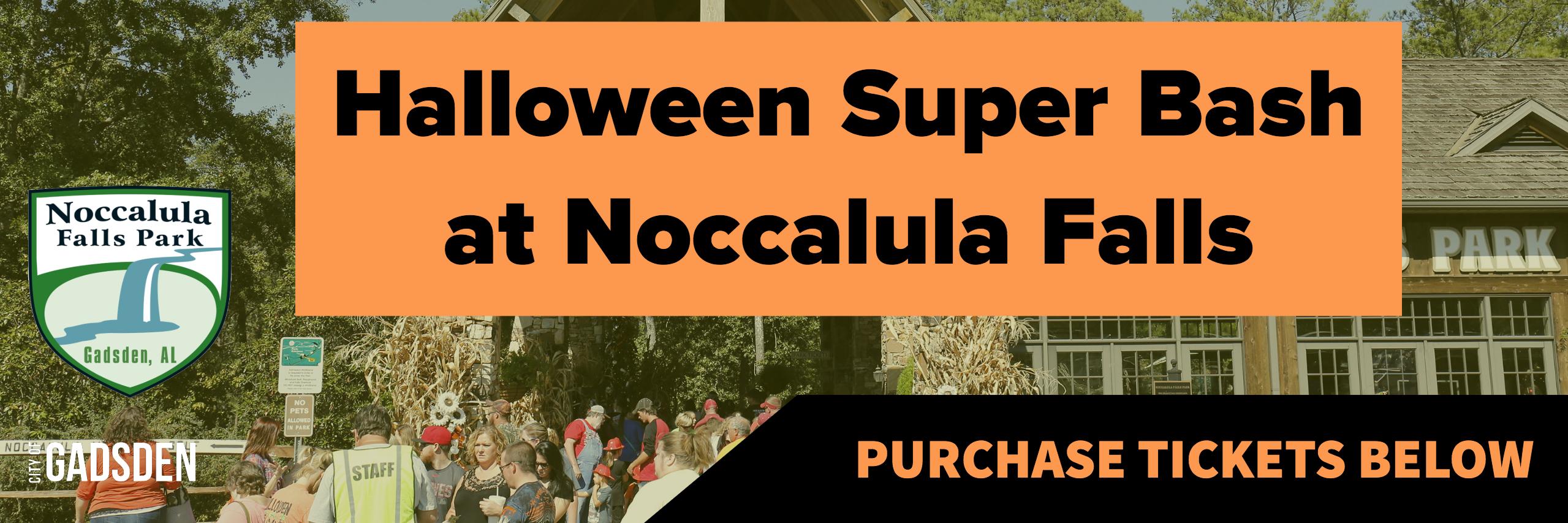 Halloween Super Bash at Noccalula Falls 2018