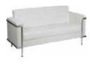White Contemporary Sofa