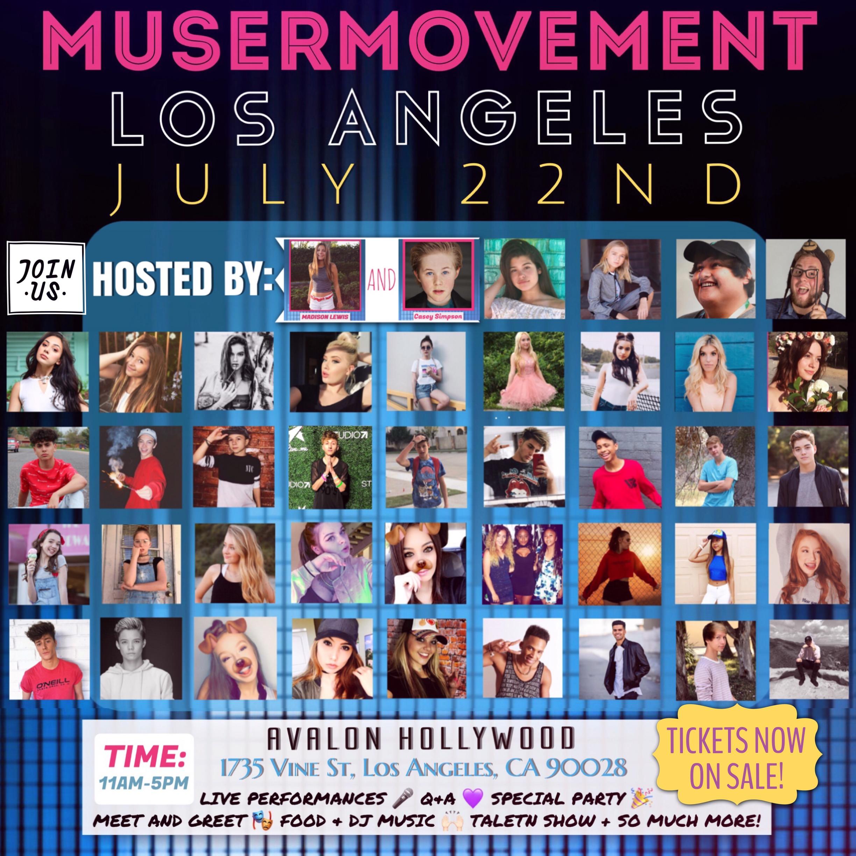 Musermovement Los Angeles 2017