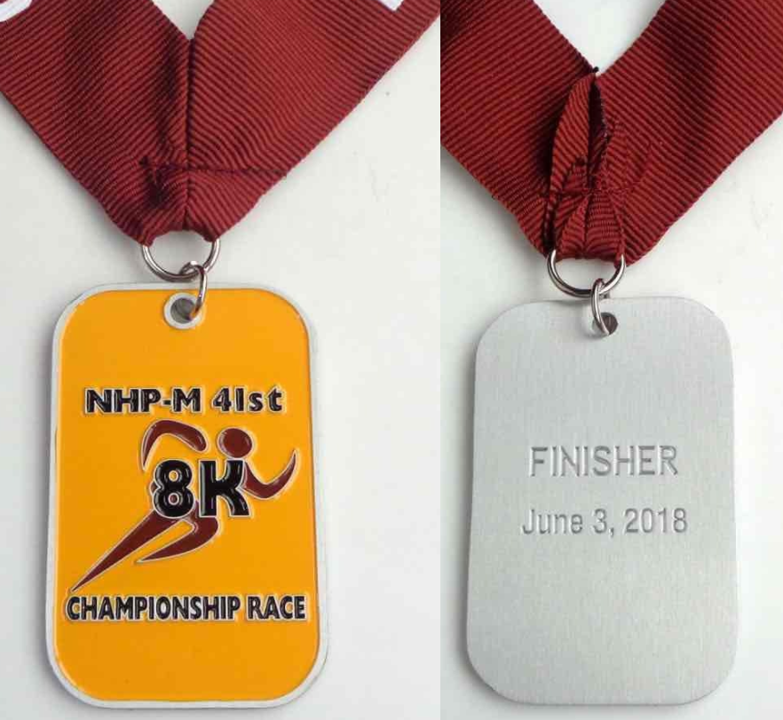 SWEET BLING FOR ALL FINISHERS!