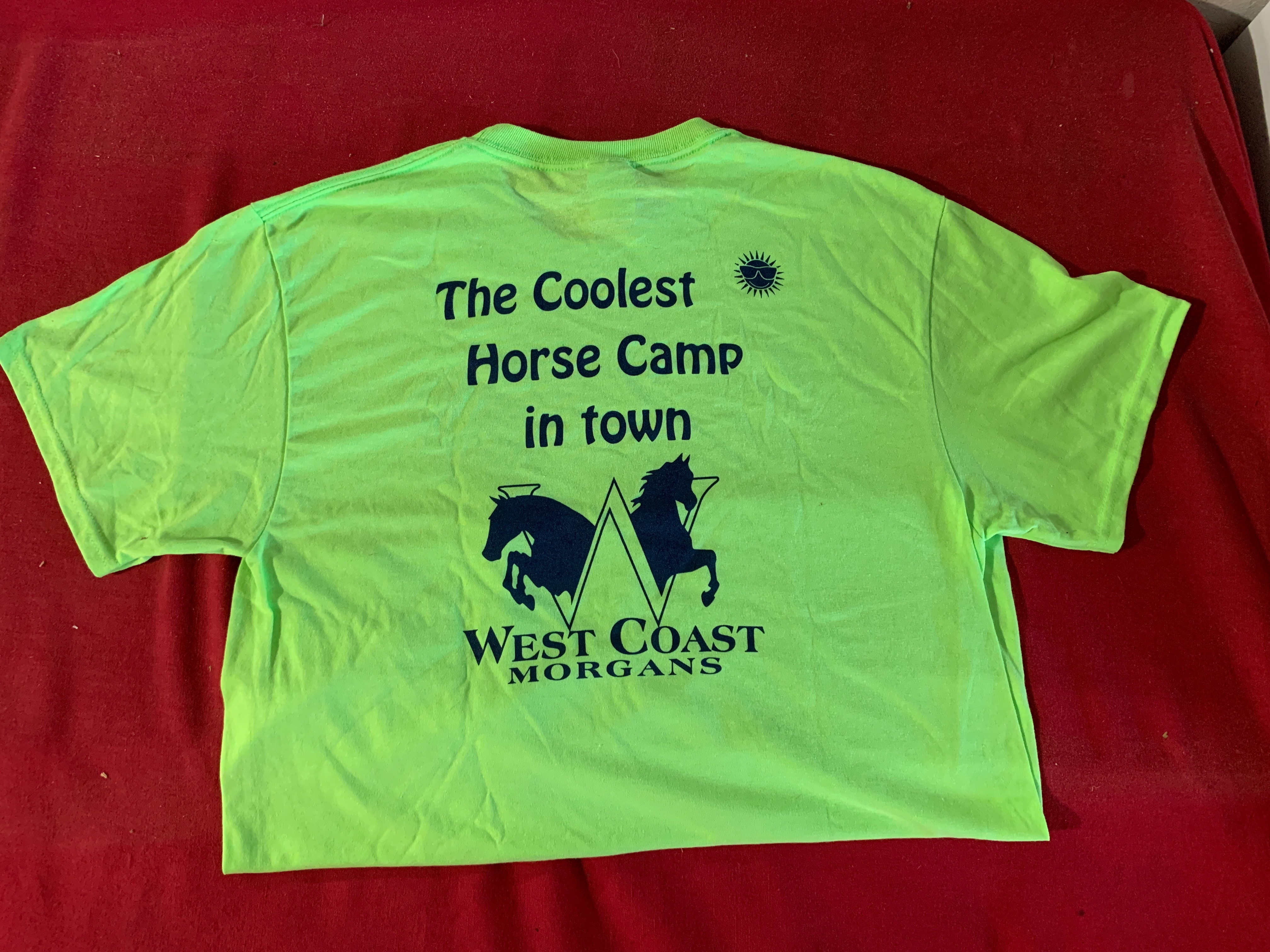 WCM Youth Size Camp Shirt