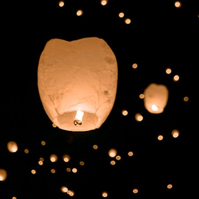 Sky Lantern  (One included with Full Event Pass)