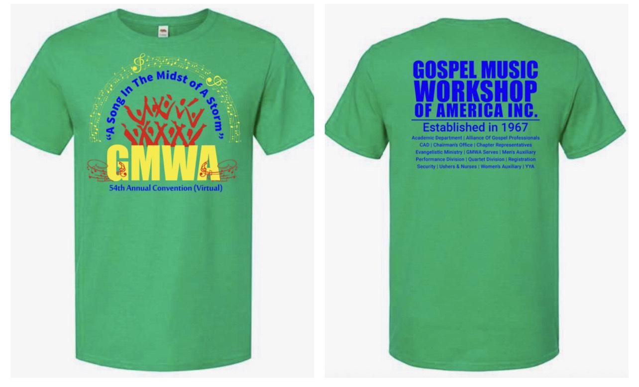 GMWA Adult T-Shirt: Small