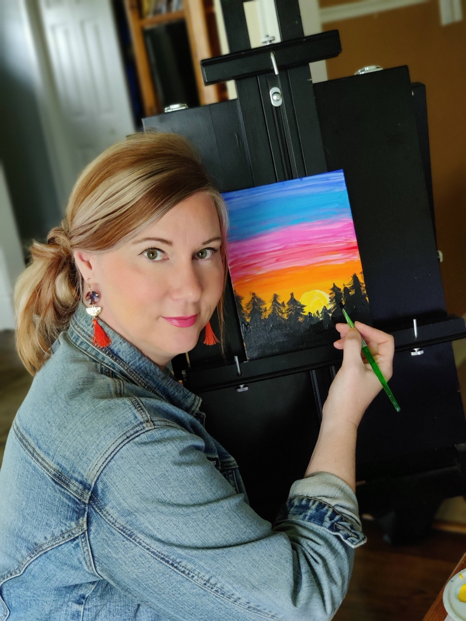 #1 Painting with Heather deHaan