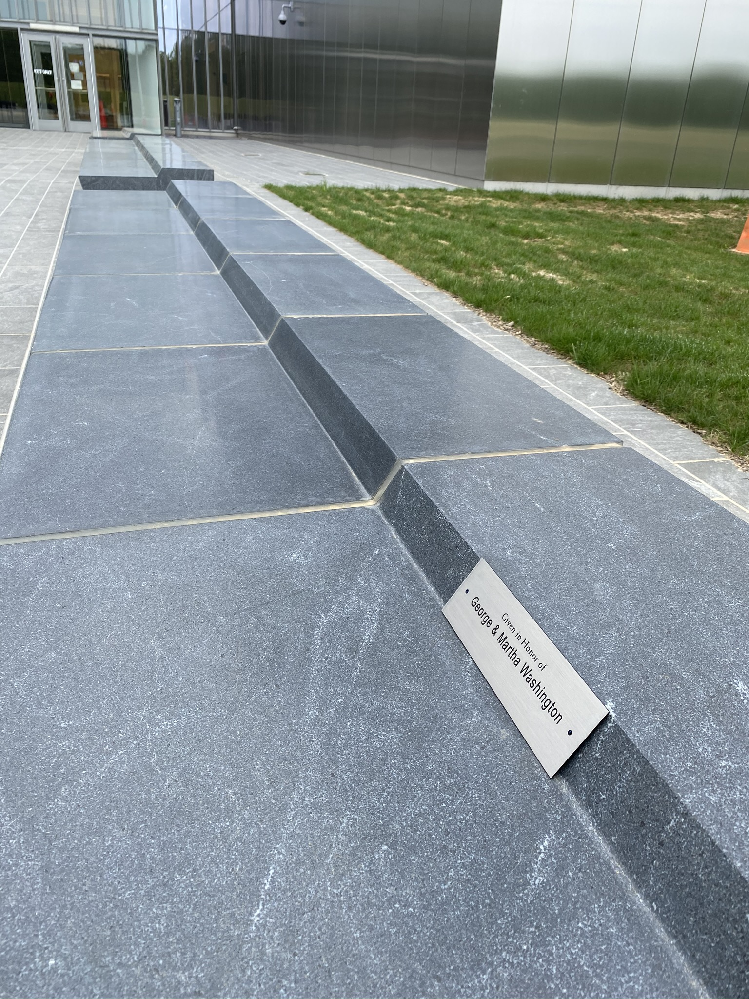 Granite Bench Seat (entry plaza)