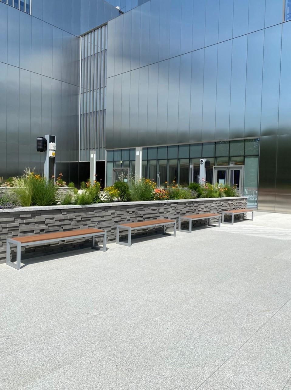 Cafe Terrace (SW Terrace) Bench