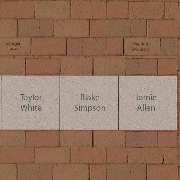 "12"" x 12"" Medium Brick"